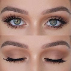 Braut Make-up Inspiration: Hochzeit Make-up Hochzeitsideen Braut Make-up Braut H . Best Wedding Makeup, Natural Wedding Makeup, Natural Eye Makeup, Bridal Hair And Makeup, Eye Makeup Tips, Smokey Eye Makeup, Mua Makeup, Makeup Ideas, Natural Beauty