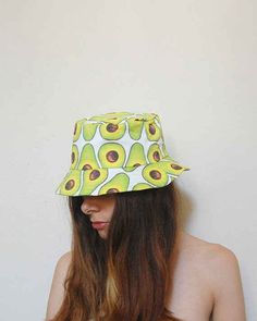 Don't you just love this playful avocado print? Bucket hats are back, and they offer great sun coverage for chemo patients.