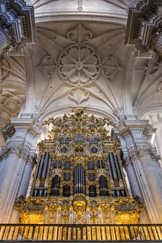 Organ Pipes, Cathedral of Incarnation, Spain