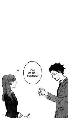 𝐟𝐨𝐧𝐝𝐨𝐬 𝐝𝐞 𝐩𝐚𝐧𝐭𝐚𝐥𝐥𝐚 𝐝𝐞 𝐚𝐧𝐢𝐦𝐞 𝐞𝐧 𝐡𝐝. - #1 - Wattpad Manga Anime, Sad Anime, Manga Art, Manga A Silent Voice, Anime Films, Anime Characters, Koe No Katachi Anime, A Silence Voice, Manga Illustration