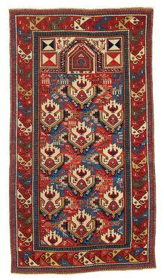 Shirvan Prayer Rug - East Caucasus, Second half 19th century, 176 x 97 cm
