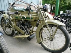 1921 'Matchless' Motorcycle Combination