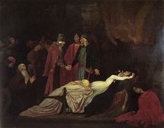 Frederick Leighton - The Reconciliation of the Montagues and Capulets