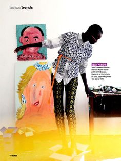 Editorial Culture --- Aluad Deng Anei by Neil Kirk for Glamour South Africa May 2014