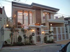 Dream House Dream House Exterior, Dream House Plans, Dream Home Design, Modern House Design, Philippines House Design, Narrow House Designs, Philippine Houses, 2 Storey House Design, Modern Bungalow House