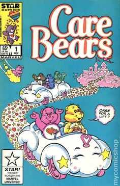 Marvel Star Comics Care Bears # 1 November 1985 With Bag & Board Care Bear Stare for sale online Cartoon Wallpaper, Retro Wallpaper Iphone, Trippy Wallpaper, Iphone Background Wallpaper, Hippie Wallpaper, Dark Wallpaper, Collage Mural, Bedroom Wall Collage, Photo Wall Collage