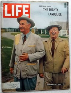 LBJ Mighty Landslide South Vietnam Sammy Davis  1964 November 13 Life Magazine