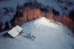 Winter Sunset by Ionut Burloiu on 500px