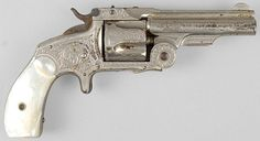 Smith and Wesson Baby Russian Revolver.38, c. 1870's