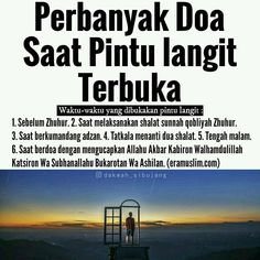 "Sebelum zhuhur Berdasarkan sabda Rasulullah saw,""Sesungguhnya pintu-pintu… Islamic Quotes, Islamic Prayer, Islamic Messages, Islamic Inspirational Quotes, Muslim Quotes, Hijrah Islam, Doa Islam, Reminder Quotes, Self Reminder"