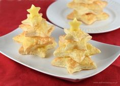 These really easy cheese puff pastry Christmas trees make a lovely Christmas starter or a gorgeous centerpiece for a nutcracker themed party!