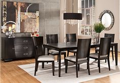 Shop For A Sofia Vergara Savona 5 Pc Dining Room At Rooms To Go Description