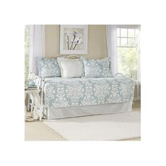 Laura Ashley Home Rowland Breeze 5 Piece Quilted Daybed Set Wayfair $110