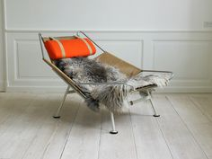 Hans Wegner flagline chair