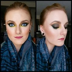 Today's #motd #eotd #jungleeyes #smokeyeyes #smokeygreeneyes #tropicaleyes #blueeyes using @makeupgeekcosmetics @stilacosmetics @stilagirlcanada @sugarpill #midori #acidberry #buttercupcake #stayallday #liquideyeliner #liquidlipstick #contour #beatface #highlightandcontour #mua #norvina #batalash #dominiquedlr #makeupbyalo #vegas_nay #wakeupandmakeup #makeupmouse #livingdeadmakeup #tialacakeface #blonde #girlswithpiercings #girlswithstretchedears #muashootingstar