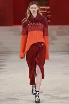 See all the Collection photos from Lala Berlin Autumn/Winter 2017 Ready-To-Wear now on British Vogue Knitwear Fashion, Knit Fashion, Fashion 2017, Womens Fashion, Fashion Trends, Fashion Outfits, Lala Berlin, Fashion Lookbook, Knitting Designs