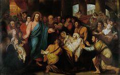 Benjamin West's Christ Healing the Sick