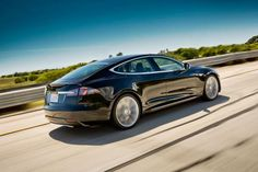 Tesla Model S - 2013 motor Trend Car of The Year - 100% electric - add transparent solar panels on the windows/panoramic roof and it'll recharge itself