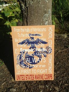 Marine Corps Wood Home Decor Distressed Wood by CubaLakeCrafts Engraved Wood Signs, Carved Wood Signs, Military Home Decor, Welcome Home Parties, Coaster Crafts, American Flag Wood, Distressed Wood Signs, Usmc, Marines