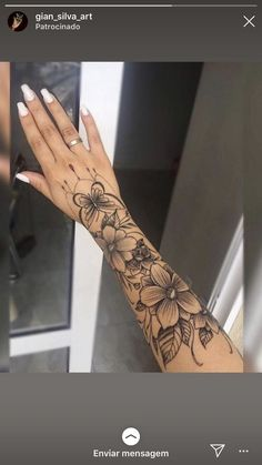 - Tattoos - Henna Designs Hand - (notitle) – Tattoos – The Effective Pictures We Offer You About thigh tattoo - Forarm Tattoos, Arm Sleeve Tattoos, Wrist Tattoos, Mini Tattoos, Body Art Tattoos, Inner Forearm Tattoo, Butterfly Sleeve Tattoo, Forearm Sleeve, Small Tattoos