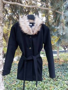 Palton Monsari Fall Looks, Fur Coat, Autumn, Jackets, Collection, Fashion, Down Jackets, Moda, Fall