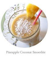 The Best of this Life: Pineapple Coconut Smoothie