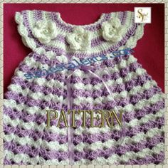 Hey, I found this really awesome Etsy listing at https://www.etsy.com/listing/156833836/pattern-pt072-crochet-baby-dress-baby