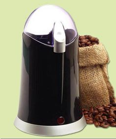 This powerful grinder easily pulverizes coffee beans, herbs, and the thickets of spices. Central Coffee Grinder from @overstock