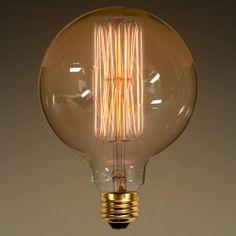Edison Bulb Vintage G40 60w Squirrel Cage
