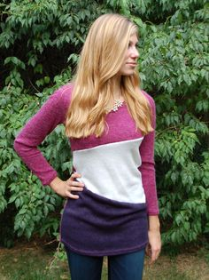 Color Blocked Sweater - Paperback Boutique