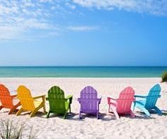 I can just picture all my girlfriends and I in these adorable chairs :) Enjoy Island Life.  Anna Maria Island Homes for Sale.  www.insidertipsannamariaislandhomes.com