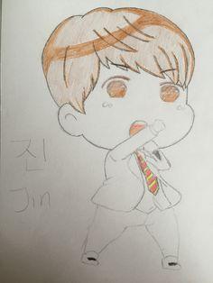 진 Princess Jin  Kim Seokjin