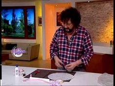 Jorge Rubicce  - Bienvenidas TV - Modela en porcelana fría un souvenir p...