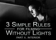 TIPP -> Shooting Interiors -> how to hanadle the light