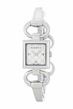 9187131a1f5 Image of GUCCI Women s Tornabuoni Diamond Bangle Watch
