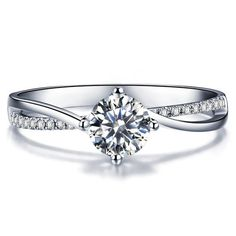 Beautiful twisted diamond engagement ring is available from 0.40 carat to 2.00 carat beautiful natural princess brilliant cut sparkling white
