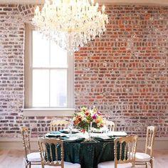 Unbelievable Chandeliers | Wedding at Merchants Hall | Charleston SC | Explore Charleston