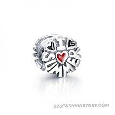 e262cea0acb Fashionable Pandora-I Love Summer Enamel Sterling Silver Bead Charm for  Christmas