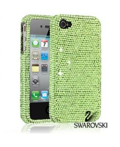 Swarovski Gorgeous Green Crystal Case for iPhone 4. It comes in 5 different colors!