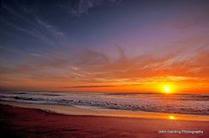 A Winter Sunrise On The Outer Banks, Southern Shores, North Carolina.