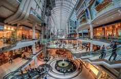 Photo of the Day: Toronto Eaton Centre by Chrisd66 blogTO Flickr pool.