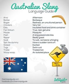 How to Speak Australian: 7 Steps to Mastering the Australian Accent Ever wondered how the Australian 'Aussie' accent evolved? Find out about its fascination history and learn some Aussie slang. Australia Slang, Australia Day, Western Australia, Australia Travel, Australia Facts, Brisbane Australia, Visit Australia, Australian Accent, Australian English