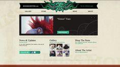 New website by missmonster.deviantart.com on @deviantART