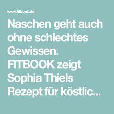 """Naschen geht auch ohne schlechtes Gewissen. FITBOOK zeigt Sophia Thiels Rezept für köstlichen """"Heiße Liebe""""-Trifle – superlecker UND ohne Zucker!"""