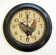 Rooster Clock - $37.49