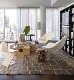 Upper East Side Residence  Living  Contemporary  Eclectic by Neal Beckstedt Studio