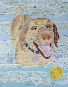 Dog Collage by Carol Mikkelson, via Flickr