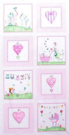 Red Rooster Fabrics - Mila Marquis 'A Bundle of Pink'