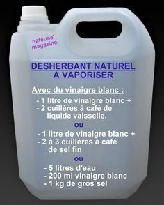 Faire son désherbant naturel pour le jardin – Christelle Cossa Make her weed killer for the garden – Christelle Cossa – # weedkiller Diy Jardim, Organic Gardening Tips, Vegetable Gardening, Aquaponics System, Organic Vegetables, Organic Plants, Garden Planning, Herb Garden, Container Gardening