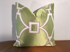 "Scalamandre ""Circle Fret"" Spring 2016 Collection Viscose Linen Pillow   eBay"